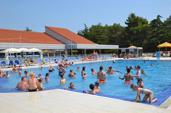 Camping Vrsar met zwembad