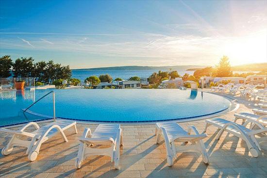 Leuke camping op Kroatisch eiland met infinity pool