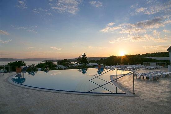 Vakantie Krk met infinity zwembad