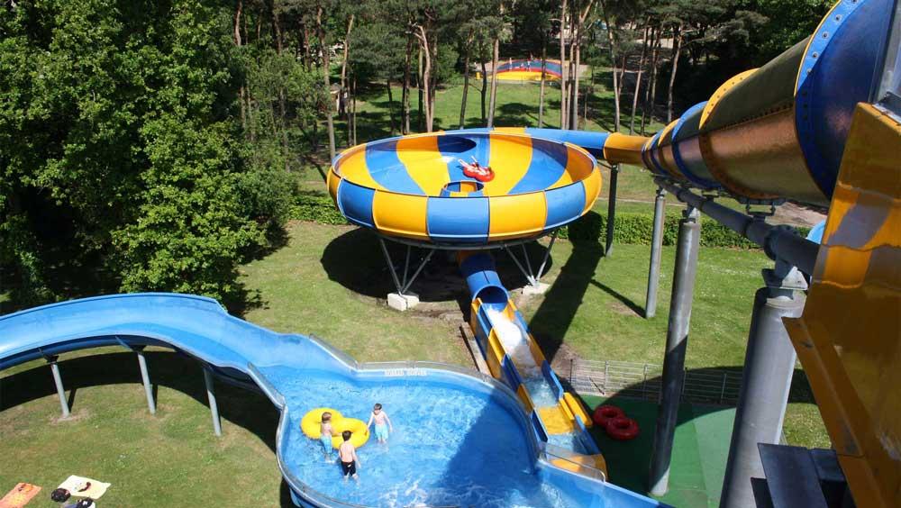 Bungalowpark / camping in Brabant met groot aquapark