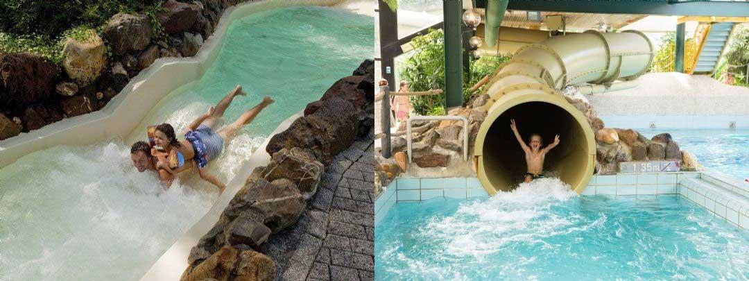 Subtropisch zwembad bij een Landal Bungalowpark