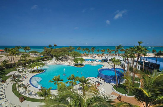 Droom resort aan het strand op Aruba – adults only
