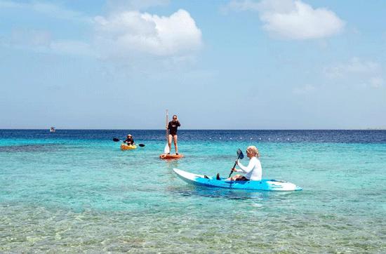 Resort Bonaire met groot zwembad