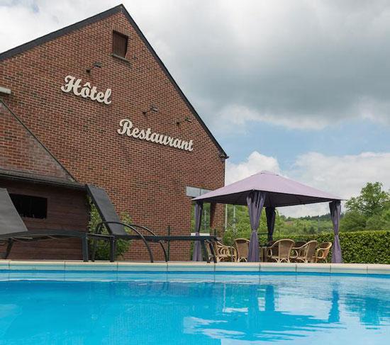 18 hotels in België met buitenzwembad