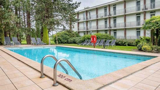 Hotel met buitenzwembad in Brugge