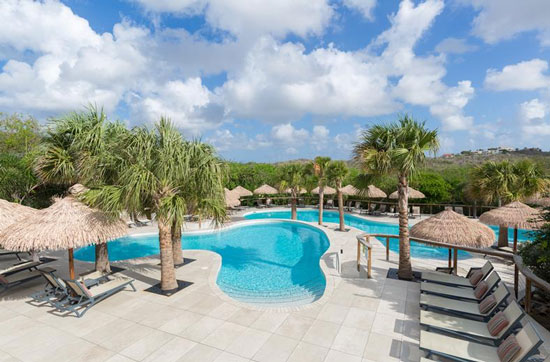 Villa Curaçao met groot zwembad