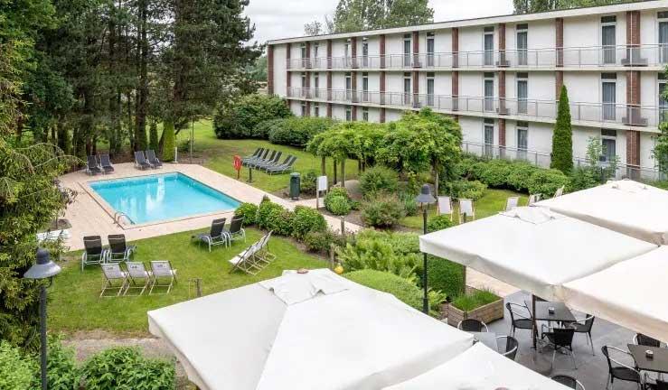 Hotel in Brugge met buitenzwembad