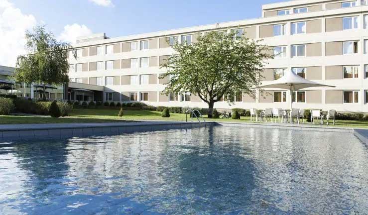 Hotel met buitenzwembad Antwerpen Noord
