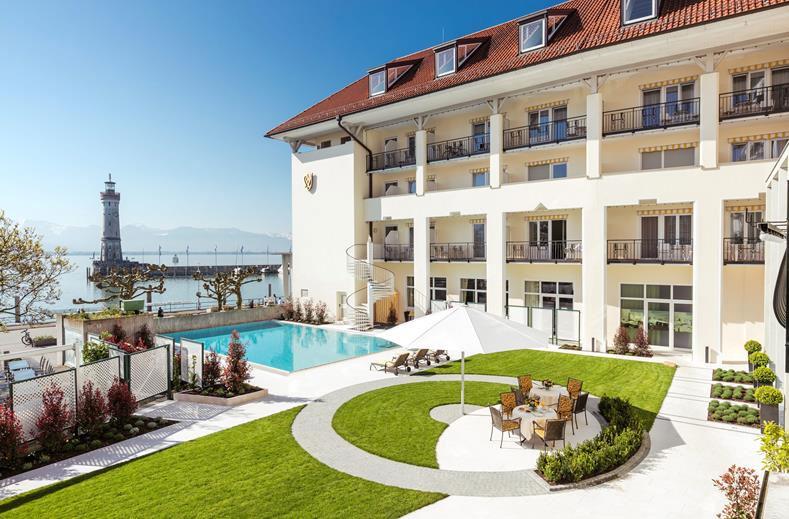 Hotel in Duitsland bij de Bodensee met buitenzwembad