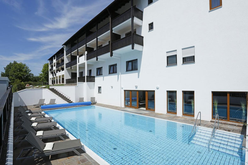 Adults only hotel in Duitsland met buitenzwembad