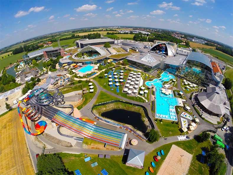 Hotel in Duitsland met grootste wellnesscenter ter wereld en fantastisch aquapark.