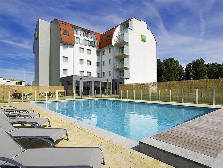 Hotel met buitenzwembad in Zeebrugge, België