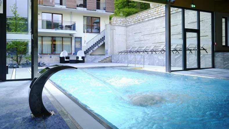 Prachtig modern hotel met spa en zwembad