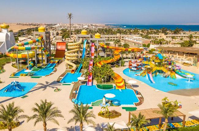 Een van de eerst gebouwde hotels van Hurghada