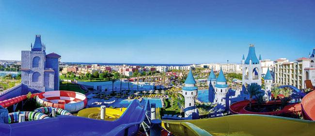 Droomwaterpark voor kinderen in Hurghada