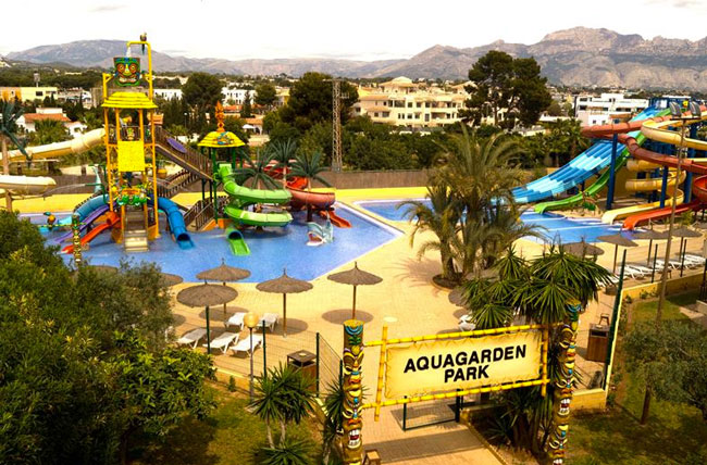 Albir Garden Resort, een groot resort met aquapark aan de Costa Blanca in Spanje