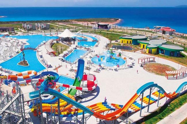Populair resort met aquapark in Turkije