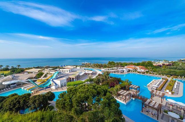 All-inclusive resort met waterpark
