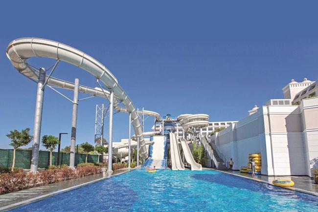 Luxe resort met aquapark in Turkije