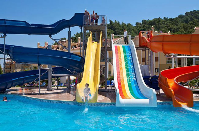 All-inclusive waterpark in Marmaris