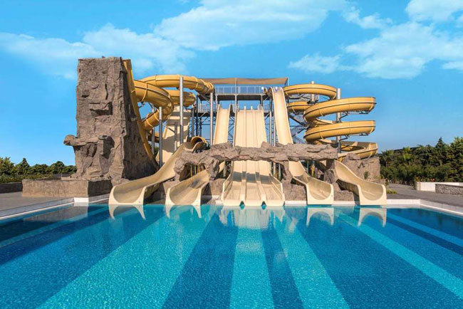 Hotel met aquapark aan de Turkse Rivièra