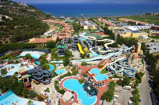 Grootste zwemparadijs van Turkije