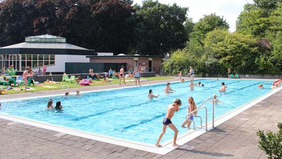 Molecaten vakantie met zwembad in NL