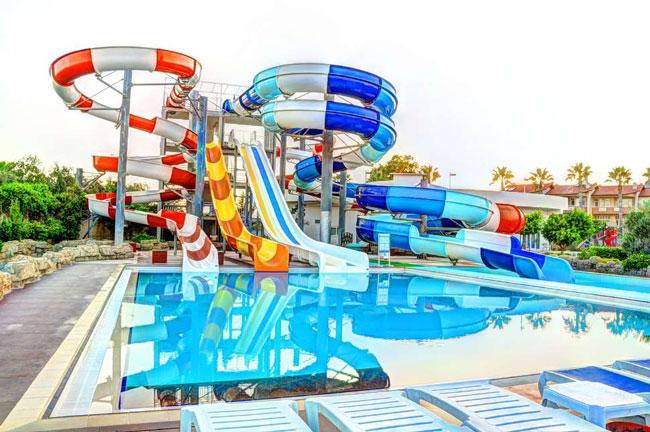 Hotel met aquapark in Turkije