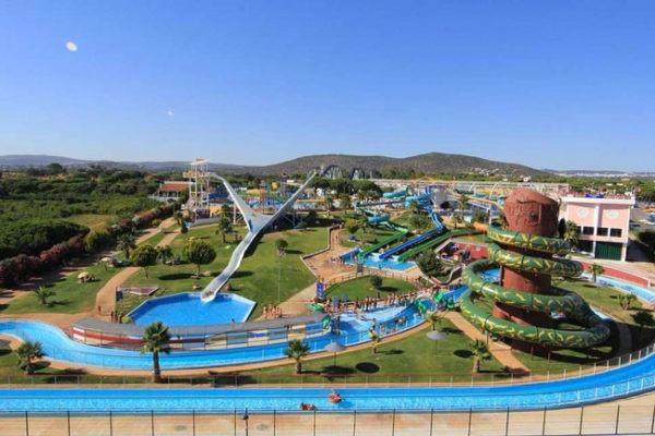 Hotel met aquapark aan de Algarve