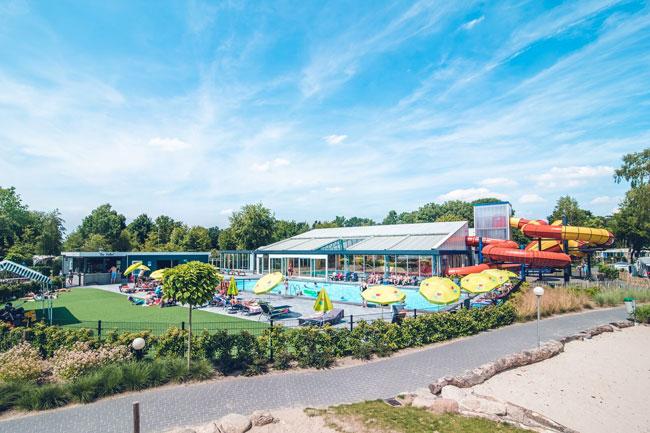 Leuk vakantiepark op de Veluwe met spectaculaire waterglijbanen