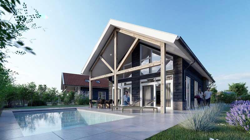 Vakantiehuis kopen op park met zwembad in Nederland