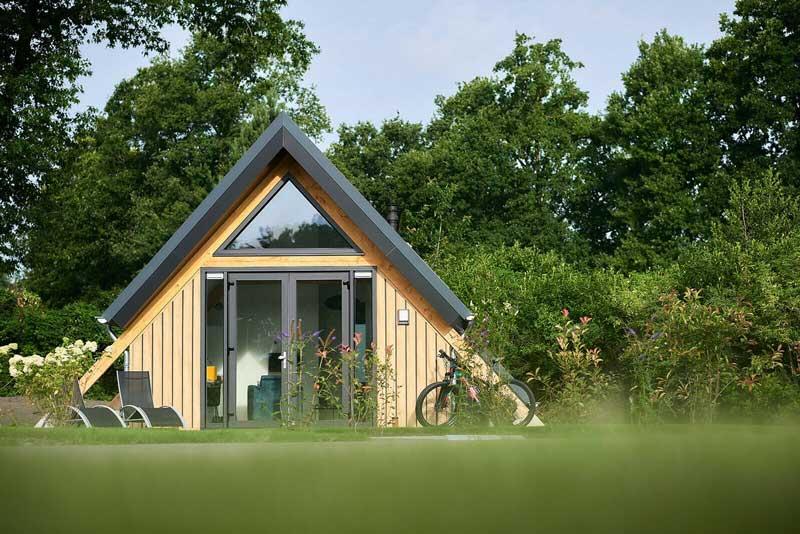 Vakantiewoning met eigen grond kopen, midden Nederland