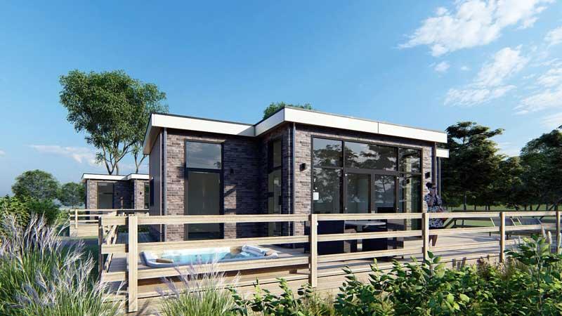 Vakantiewoning kopen voor eigen gebruik, op vakantiepark met zwembad