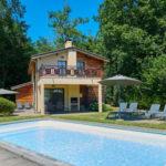 Kleinschalig vakantiepark in Gironde met privé zwembad