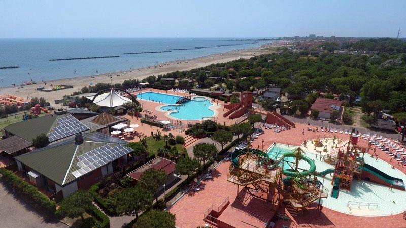 Camping met aquapark Adriatische Kust