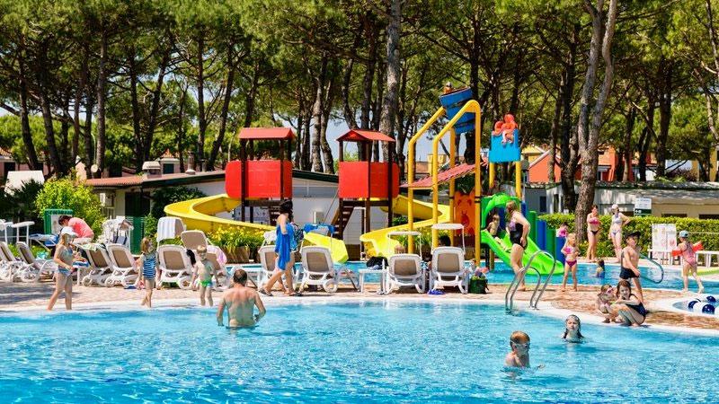 Kleine camping Italië met zwembad