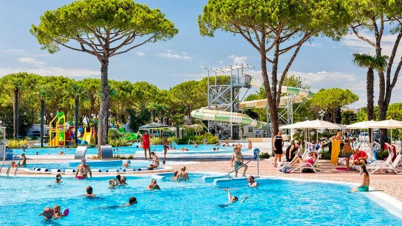 Kleinschalig vakantiepark Italië met zwembad