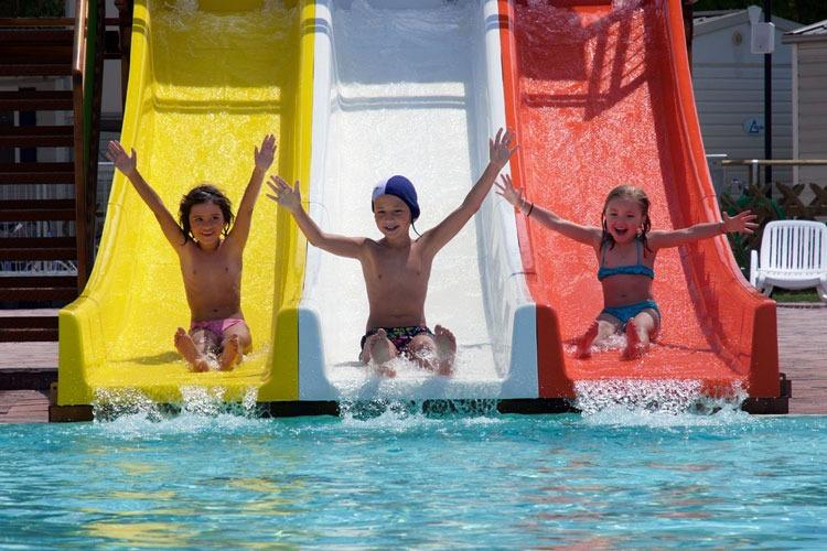 Familiecamping Gardameer met zwembaden