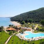 Fijne camping met zwembad aan het strand in Kroatië
