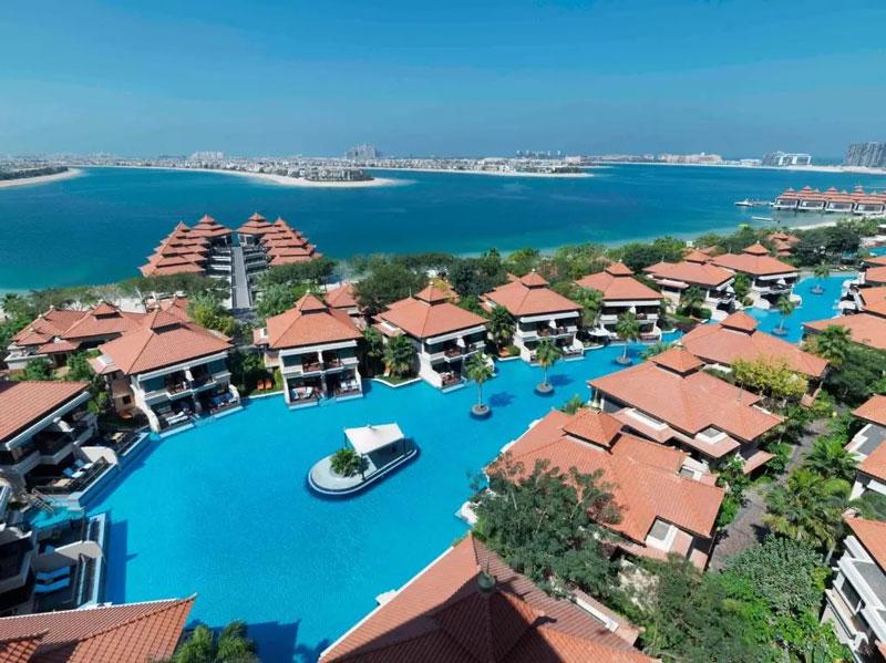 20 luxe resorts met zwembad ter wereld