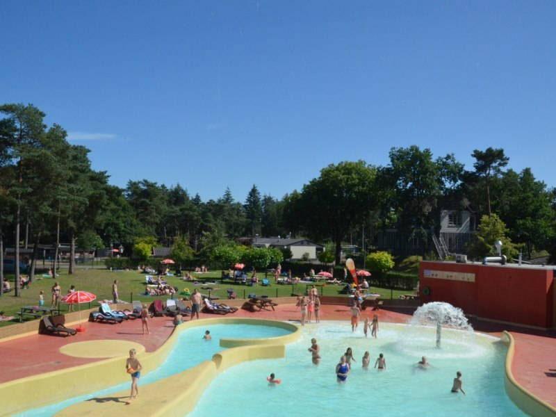 Camping op de Veluwe met zwembad