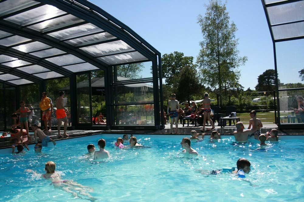 Camping De Norgerberg, buitenzwembad al geopend