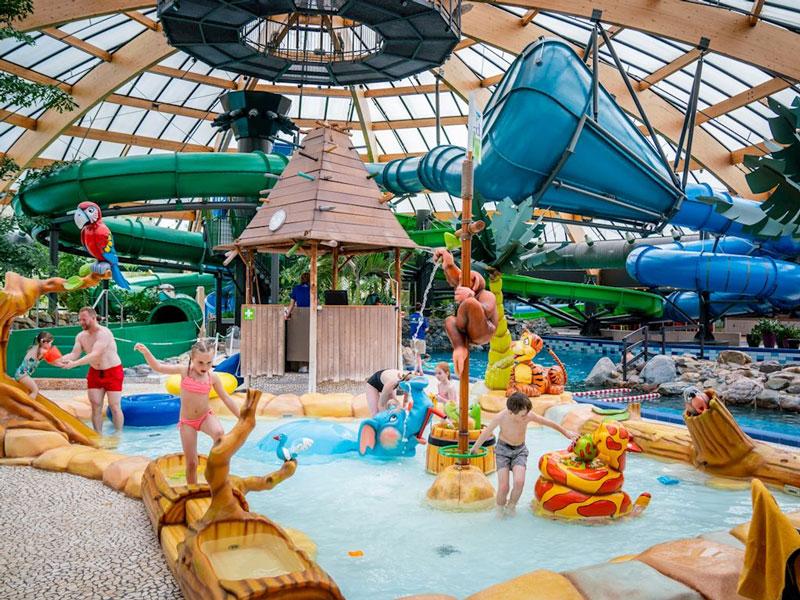bungalowpark subtropisch waterpark