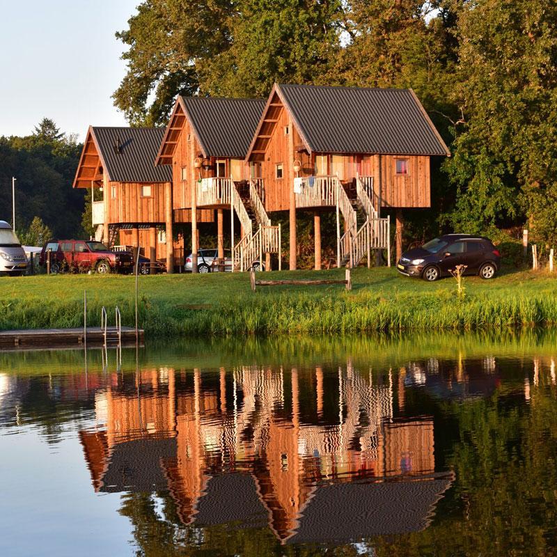 luxe accomodatie camping overijssel met zwembad