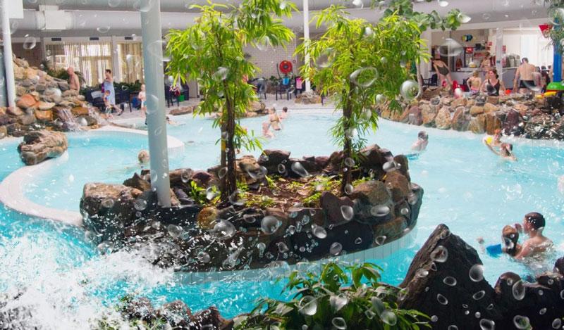 vakantie met zwemparadijs