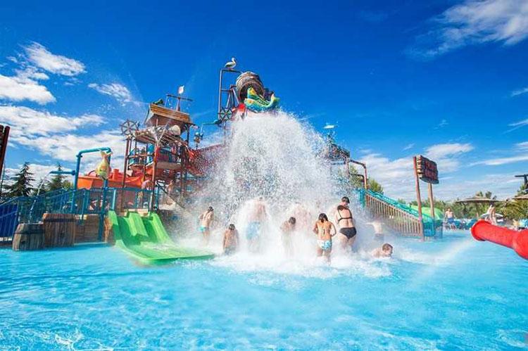 waterparken op vakantie Kroatie