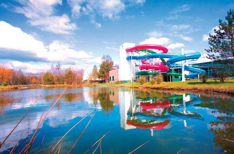 Waterparken in België, vakantiepark Molenheide