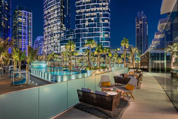 zwembad Dubai