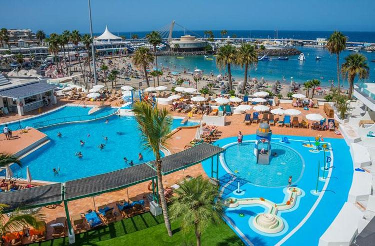 hotel met mooi zwembad Tenerife