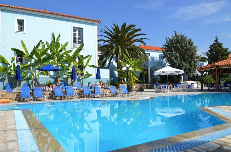 Blue Sky hotel op Lesbos